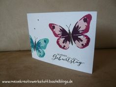 Watercolor Wings, Stampin up