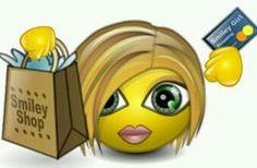 Shopping smile