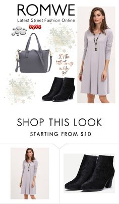 """ROMWE - 8/10"" by thefashion007 ❤ liked on Polyvore"