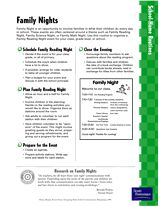 Need activities for parents? Make and Take Literacy Activities for ...