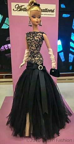 Black dress for Silkstone BArbie
