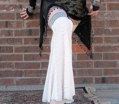 Victorian Tart  Gypset Gaiters  Flared Ruffled by WearableDarkness, $23.99