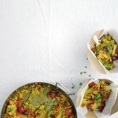 Gemüse-Paella