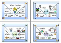 Word Family | Charts. This set of charts show the word famillies beginning with the letter 'a'. See PHONOLOGICAL AWARENESS at ... www.abcteachingresources.com
