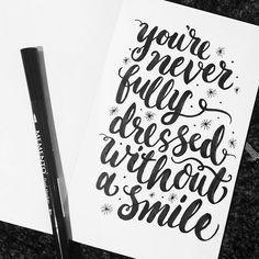 """Brush straight to paper  #inktober #handlettering #inkstraight2paper #brushpen #brushlettering #handtype #handmade #type #typography #lettering…"""