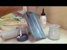 ▶ Taller de Veladuras con pintura Acrílica. El Sabor de lo Antiguo - YouTube Painting On Wood, One Stroke Painting, Stencil, Decoupage Tutorial, Plastic Art, Silk Art, Diy Videos, Chalk Paint Furniture, Wood Colors