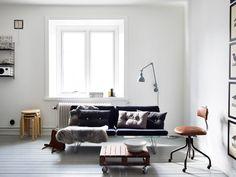 wohnzimmer skandinavisch einrichten teppich deko | wohnungssache ... - Skandinavisch Wohnen Wohnzimmer