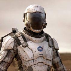 Exo suit concept by sancient on DeviantArt Armadura Sci Fi, Exoskeleton Suit, Astronaut Suit, Character Meaning, Sci Fi Armor, Armor Concept, Space Travel, Space Exploration, Nasa
