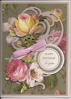 Anna Griffin B-day Cards