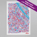 "Wien Poster kaufen, Gewinner ""100 Beste Plakate"", 47.00 €"