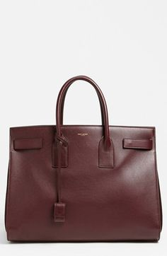 Saint Laurent 'Sac de Jour' Leather Tote available at #Nordstrom