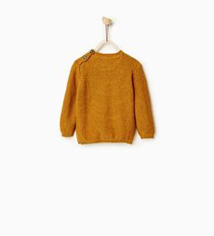 Image 2 of Basic textured sweater from Zara