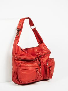 Tano Red Velvet Rosemount Distressed Tote at Free People Clothing Boutique
