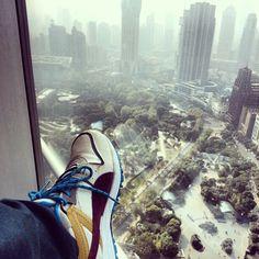 #PUMAs in Shanghai, #China #shoes #travel #travelingpumas