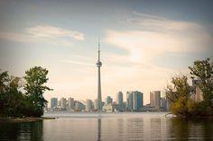 Toronto skyline from Wards Island