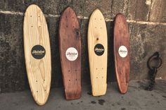 Handcrafted skate boards