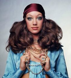 Marisa Berenson photographe by Gian Paolo Barbieri, 1969.