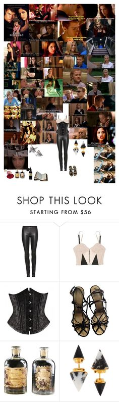 """Cruel Intentions"" by taught-to-fly19 ❤ liked on Polyvore featuring GET LOST, Sebastian Professional, The Row, Clare Tough, Chanel, Mad et Len and Vita Fede"