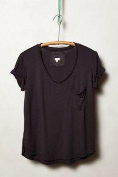 t.la Garment-Dyed V-Neck  #anthrofave #anthropologie