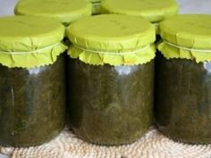 Canning Pickles, Ketchup, Chutney, Preserves, Pesto, Bar Stools, Food And Drink, Pure Products, Drinks