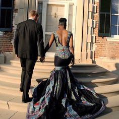 African wedding dress/Ankara wedding dress/Dashiki wedding dress/Dashiki mermaid dress/African dresses for women/African prom dress African Prom Dresses, African Wedding Dress, Pink Wedding Dresses, Wedding Gowns, Wedding Cakes, African Attire, African Wear, African Dress, African Style