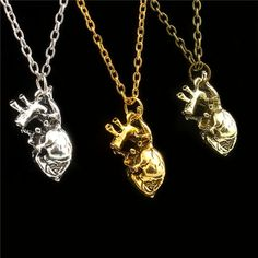 New Design Anatomical Anatomy 3D Simulation Heart Pendant Charms Necklace Jewelry For Men And Women Fit Gift |  Buy online New Design anatomical anatomy 3D simulation heart Pendant Charms Necklace jewelry For men and women Fit Gift only US $1.37 US $0.95. Here we will give you the best deals of finest and low cost which integrated super save shipping for New Design anatomical anatomy 3D simulation heart Pendant Charms Necklace jewelry For men and women Fit Gift or any product.  I think you…