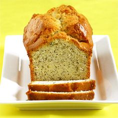This is an amazingly moist and flavorful traditional style lemon poppy seed pound cake from Rose Levy Beranbaum. It's easy to make and is great with berries too.