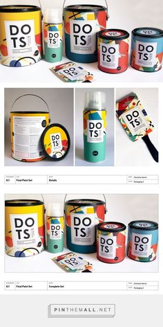 DOTS Paint by Kandinsky Brand Packaging by Christine Herrin on Behance