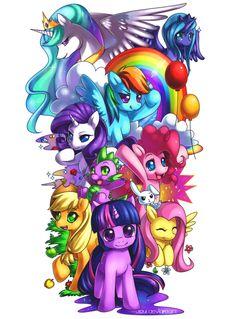 MLP: Friendship is Magic by Jiayi.deviantart.com