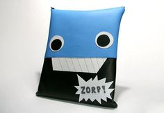 Robot Laptop Sleeve | $40.00  Made of high quality vinyl and padded with 1/2 fabric backed foam.