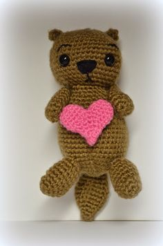 The Heart of a Crafty Mom: Otis the Otter