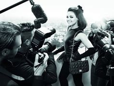 Miss Dior Fall 2012 Ad Campaign  Mila Kunis photographed by Mario Sorrenti, styled by Carine Roitfeld