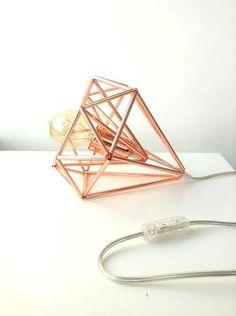 Himmeli light Cage table lamp industrial metal minimal table lamp light geometric minimal  you'd like @Carlene Thomas RD