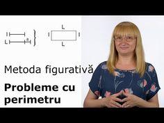 Metoda figurativă - Probleme cu perimetru - YouTube Kids Education, Art Lessons, Youtube, 1, Classroom, Math, Calculator, Homeschooling, Google