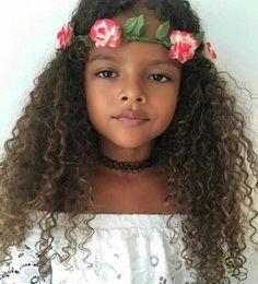 ideas hairstyles black kids curls - ❤️ Hairstyles - i New Natural Hairstyles, Trendy Hairstyles, Beautiful Black Babies, Beautiful Children, Cute Kids, Cute Babies, Curly Hair Styles, Natural Hair Styles, Moda Hippie