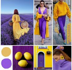 Purple Color Combinations, Color Combinations For Clothes, Color Blocking Outfits, Purple Outfits, Colourful Outfits, Fashion Colours, Colorful Fashion, Color Matching Clothes, Look Blazer