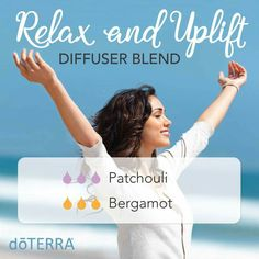 Bergamot adds citrusy sparkle to the earthiness of Patchouli in this chill-out diffuser blend.