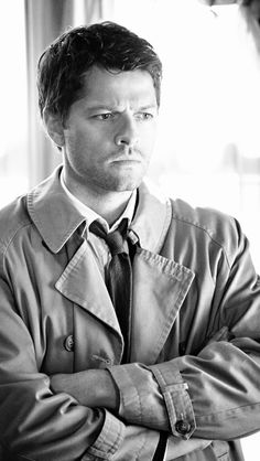 Misha Collins. Castiel #supernatural iPhone5 Wallpaper