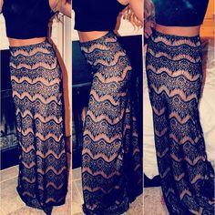 Maxi skirt, Aztec skirts, summer outfits, summer piece, pink and black Passion For Fashion, Love Fashion, Fashion Beauty, Womens Fashion, Fasion, Fashion Outfits, Fashion Trends, Skirt Fashion, Textiles