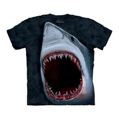 "Shark Bite Tee Adult now featured on Fab ~ Does this lifelike tee from ""The Mountain"" terrify you yet???"