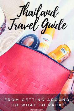 What To Pack For Thailand - Thailand Travel Guide & Essentials-- Tanks that Get Around is an online store offering a selection of funny travel clothes for world explorers. Check out www.tanksthatgetaround.com for funny travel tank tops and more travel destination guides!