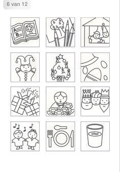 Activiteitenkaartjes Classroom Organization, Classroom Decor, Pre School, Teaching Resources, Planer, Graphic Design, Templates, Education, Learning