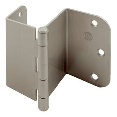 Stone Harbor Hardware, inch Swing Clear Offset Door Hinge Satin Nickel for sale online Hidden Door Hinges, Hidden Door Bookcase, Concealed Hinges, Invisible Hinges, Murphy Door, Furniture Hinges, Trap Door, Door Fittings, Home Plans