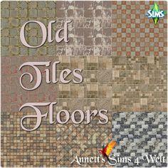 Sims 4 CC's - The Best: Old Tiles Floors by Annett85