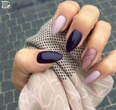 150 Gorgeous Glitter Stiletto Nail Art Design 2018 - Reny styles