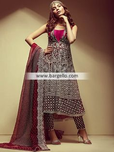 5b1891b342 D6680 - Indian Pakistani Anarkali Suits - For order & Inquiry: New York  U.S.A