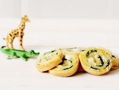 מתכון: שבלולי גבינה עם תרד