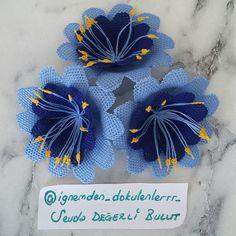 """279 Beğenme, 32 Yorum - Instagram'da Sevda DEĞERLİ BULUT (@ignemden_dokulenlerrr_): """"Bu mübarek bagislanma gecesinde RABBİM bizleride bagislanan kullarından eylesin İNŞAALLAH.…"""" Thread Art, Needle And Thread, Crochet Borders, Needle Lace, Crewel Embroidery, Creative Food, Crochet Flowers, Sultan, Stitch"""