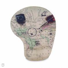 Mouse Pad Gel Mapa Mundi