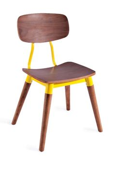 Tone down the yellow dining chairs wish with just a pop of yellow?